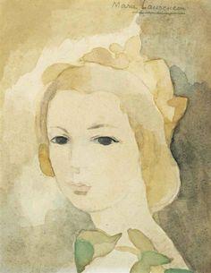 Marie Laurencin, Jeune fille