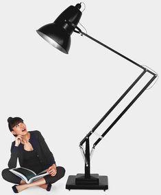 Gigantic Anglepoise Modern Floor Lamp.link #Floorlamp #Hugelighting #Lamp #Lighting #Lightingdesign #Modernlighting #Vintagelighting