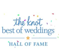 Can it get any better!!!!! We just received notification that we've been inducted to @theknotpro Hall of Fame . Wow!!! We are truly estatic to receive such a prestigious honor. What an amazing year we've had!!!! Again I just want to say thank you to all our wonderful brides and their bridal party. It's because of you and our love for what we do helped us to achieve this award. THANK YOU! A special shout out to my 2016 team.  You are an amazing group of ladies who I love dearly and are some…