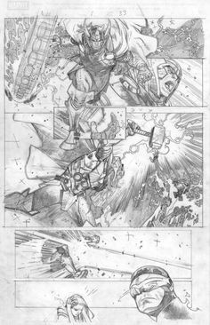 Olivier Coipel added 99 new photos to the album: Miscellaneous pages/covers. Comic Book Pages, Comic Book Artists, Comic Book Characters, Comic Artist, Comic Character, Comic Books Art, Bd Comics, Manga Comics, Storyboard