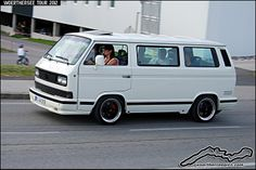 White VW T3 by retromotoring, via Flickr