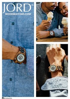 Time is sweet when you're spending it with someone you love! Why not give the gift of time this holiday season with a natural wood watch from JORD?! Inspired by the simplicity of nature, and powered by modern mechanics, a JORD timepiece is the perfect present to mark those moments. Find the full collection at www.woodwatches.com with limited stock and free worldwide shipping through the holidays!