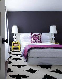 grey (or gray) bedroom inspiration  