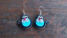 Kolczyki Koty w Design By Fiubździu na DaWanda.com