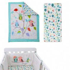 סט מצעים למיטת תינוק ינשוף מבית toTs