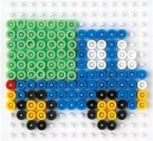 MollyMoo – crafts for kids and their parents Hama Templates - MollyMoo - crafts for kids and their parents Perler Bead Designs, Easy Perler Bead Patterns, Melty Bead Patterns, Perler Bead Templates, Hama Beads Design, Diy Perler Beads, Perler Bead Art, Beading Patterns, Peler Beads
