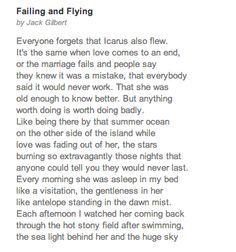 Press-Play Poetry: 'Failing And Flying'