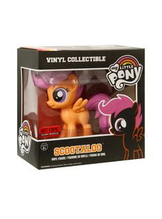 Funko My Little Pony Scootaloo Vinyl Figure Hot Topic Exclusive Pre-Release | Hot Topic