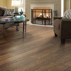 Shaw Floors Nashville Random Width Engineered Hickory Hardwood Flooring in Trolley & Reviews | Wayfair