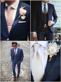 Tipos de Gravata para o Noivo arrasar no casamento!   http://marionstclaire.com/tipos-de-gravata-noivo-casamento