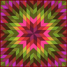 Jan P. Krentz - Colorstripes batik idea
