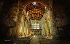 """City Methodist Church"" Gary, Indiana."