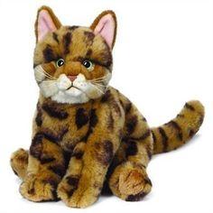 #Webkinz Signature Bengal Cat