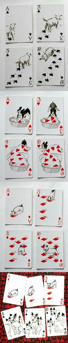 Hunde Spielkarten 2