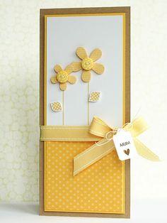 tarjeta fácil de flor Más