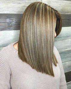 Short Straight Hairstyles - 7