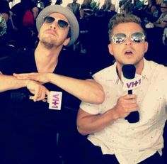 Ryan Tedder and Gavin DeGraw being stupid LOL