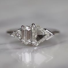 Design your own diamond engagement ring or choose one from our wide selection of beautifully crafted rose, rough and uncut diamond rings. Buy Diamond Ring, Diamond Gemstone, Diamond Wedding Rings, Diamond Jewelry, Diamond Cuts, Gemstone Rings, Diamond Pendant, Expensive Jewelry, Beautiful Rings