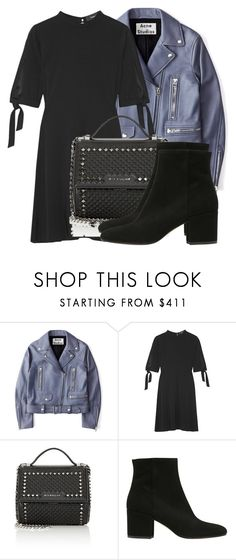 """""""Untitled #3917"""" by beatrizvilar ❤ liked on Polyvore featuring Acne Studios, Theory, Givenchy and Strategia"""