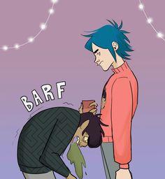 Funny Af Memes, Gorillaz Art, Beautiful Voice, Feel Good, Empty, Artist, Anime, Artists, Cartoon Movies