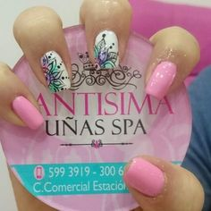Uñas Gelish Nails, Nail Manicure, My Nails, Cute Nail Art, Cute Nails, Pretty Nails, Magic Nails, Tribal Nails, Happy Nails