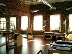 lofty style Pilates studio