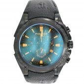 Police Herren Uhr Armbanduhr Leder Analog PL.14312JSB/02