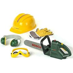 Shop for Theo Klein 8525 - Bosch Chainsaw With Accessories. Starting from Choose from the 4 best options & compare live & historic toys and game prices. Toys For Girls, Kids Toys, Battery Powered Chainsaw, Theo Klein, Cool Nerf Guns, Power Saw, Bosch Tools, Construction Tools, Kitchen