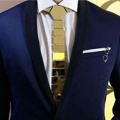 """Hmmmm.... a """"Hex"""" tie. Interesting fashion statement"""