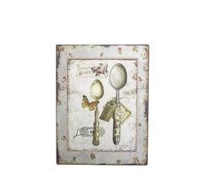 Placa Decorativa Colheres - 25X33cm | Westwing - Casa & Decoração