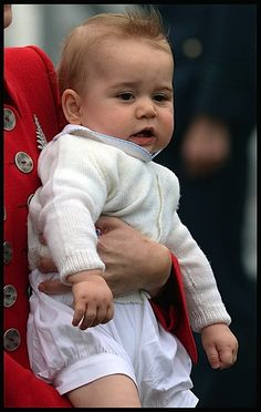Kate Middleton Shows off Adorable Prince George in New Zealand!  I have an adorable granddaughter I'd like to line him up with.  #chloerose