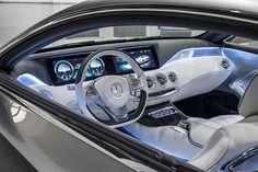 Sitzprobe: Mercedes-Benz S-Klasse Coupé Concept