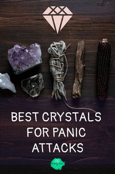 Best Crystals for Panic Attacks : Crystal healing is one of the coolest ways to treat anxiety naturally. The healing properties of healing stones offer different vibrations that tackle anxiety attacks and panic attacks. Stop Panic Attacks, Anxiety Panic Attacks, Crystal For Anxiety, Natural Anxiety Relief, Institute Of Mental Health, Types Of Anxiety, Generalized Anxiety Disorder