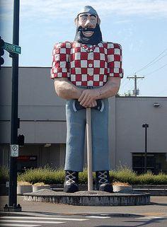 Paul Bunyan statue, Portland