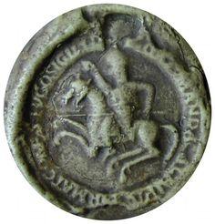 Sceau de Hugues Ier, comte de Champagne (vers 1093-1125)