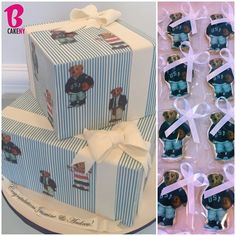 Classic Polo Baby Shower Cake with matching Cookies! - @bcakeny- #webstagram