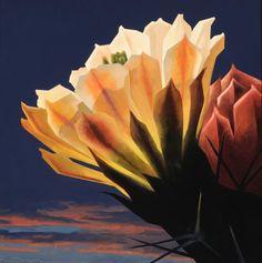 Ed Mell...Beautiful cactus blossom.
