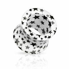 White acrylic star tunnel expancion#estrellas