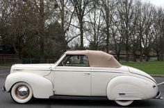1939 Mercury Convertible Clark Gable Restored with Period Custom