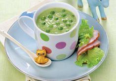 Supa crema de mazare Baby Food Recipes, Cheeseburger Chowder, 1 Year, Soup, Vegan, Chowder, Salads, Soups