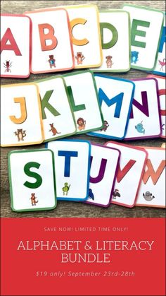 Make learning the alphabet exciting without the stress and frustration using this digital download that you can easily print right at home and have ready in a few hours to start using right away. Set children up for success with writing by learning proper letter formation and give your students the foundation they need to be good readers. This bundle is full of resources that meet children at different abilities but ire for five days - grab it before September 28 2020!