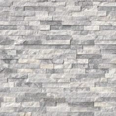 "$ 9  per sq. ft. - Alaska 6"" x 24"" Corner L-Panel Random Sized Natural Stone Split-faced Tile in Gray - MS International.  http://www.wayfairsupply.com/Alaska-Corner-L-Panel-Random-Sized-Stone-Splitfaced-Tile-in-Gray-MVP2532.html?"