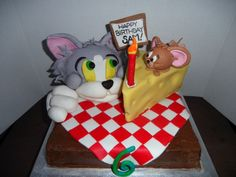 Tom & Jerry cake...one of my favorite creations :)