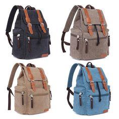 Aliexpress.com: Comprar Hombres Canvas Vintage escuela maletín Camping bolsa de mensajero mochila portátil mochila portátil mochila de Camping viaje grande exterior de mochila bolsa de la escuela fiable proveedores en yoyoyoyoyooyo