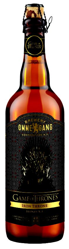 Game of Thrones Iron Throne Blonde Ale from Ommegang Brewery.  Released December 2012.  Haven't tried this yet but I'm definitely on the search for it.