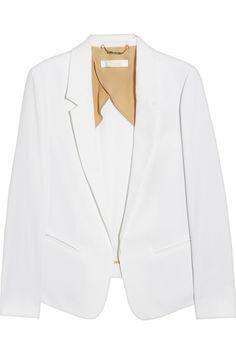 Chloé|Woven panama blazer|NET-A-PORTER.COM
