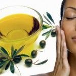 Olive oil for whitening dark skin