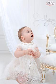 Sukienka do chrztu z delikatnej koronki  www.sofija.com.pl  #sofija #ubranka #bawełna #dziecko #chrzest #moda #kidsfashion #baby #kindermode #cotton #sweet #cute #ребенок