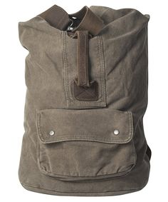 GOOTUCH Canvas Vintage Backpack Barrel Bag Rucksack Large Capacity with a Handle for Traveling/Hiking -- Awesome outdoor product. Click the image : Backpacking backpack