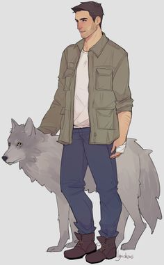I hated this womanizing jerk. But when he's by himself, not being a jerk, in comradeship with a vicious dog, and put under life threatening pressure, I'll admit he's pretty badass. (Until Dawn art by lyndraws on Tumblr)